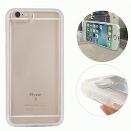 Wholesale Iphone Back Covers Unique - Unique Transparent TPU cell phone case Anti Gravity back cover for iphone6 6s Selfile Stick Nano shell