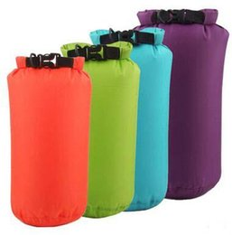 Wholesale Dry Bag 15l - HOT Selling Drift Swim Waterproof Bags 15L Rafting Upstream Camping Dry Storage Large Capacity Light Portable Waterproof Bags