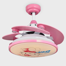 Kids Ceiling Fan LED Pendant L&s E27 Cartoon Style AC 220V LED Pendant Lights with Metal Glass for Bedroom & Shop Kids Room Pendant Lighting UK | Kids Room Pendant Lighting free ...
