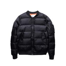Wholesale Quilted Coat Black - Jacket Classic Mens Coats Winter Clothes Men Parka Jaqueta Masculina Men Jacket Solid Quilted Jackets Bomber Men
