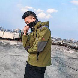 Wholesale Wholesale Wool Jackets - Sports Outdoor jacket men's Wool Soft Shell Waterproof breathable Sports jacket Long sleeve Coat S M L XL XXL 5 Color 2017