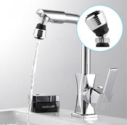 Wholesale Faucets Accessories - 360 Rotate Swivel Faucet Nozzle Filter Adapter Water Saving Tap Aerator Diffuser High Quality Kitchen accessories