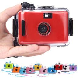 Wholesale 35mm Film Wholesale - Wholesale-2016 high quality Mini Underwater Waterproof Mini 35mm Film Camera Purple
