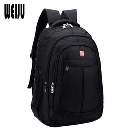 Wholesale 32 Computer - Wholesale- 2015 New Waterproof Business Backpack Men Fashion Casual Nylon Large Capacity Backpacks Travel Bags Size 45*32*19cm YA0448