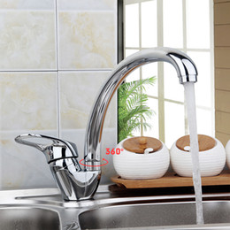 Wholesale Grifo Faucets - Kitchen Brass Kitchen Faucet Sink MixerTap Cold And Hot Water Kitchen Tap Single Hole Water Mixer torneira cozinha grifo cocina