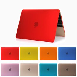 Wholesale China Abs - Crystal Clear Cases Surface Protective Fundas Laptop Case Cover For Macbook 12 inch 13.3 Air Pro With Retina Touch Bar