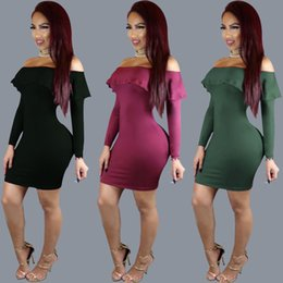 Wholesale Womens Clubwear Sexy Minis Skirts - Sexy Solid Color Nightclub Bandage Vest Skirt Suit dress bodycon womens clubwear 2016 crop tops deep v lace dresses