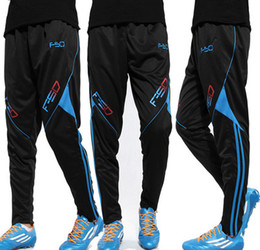 Wholesale Organic Fitness - Men Sports Trousers New Closure Pants Feet Knit Jogging Running Fitness Pants Football Training