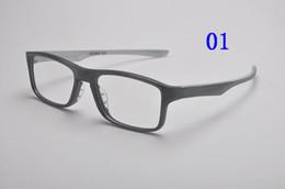 Wholesale Designer Optical Eyewear - Hot sale 80 81 free shipping sport eyeglasses frame women designer vintage eyewear men Optical frame black acetate case box