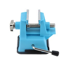 Wholesale Mini Table Vise - Wholesale- Pro'sKit PD-372 Mini Vise Bench Working Table Vice Bench DIY Jewelry Craft Mould Fixed Repair Tool Jaw multi tool pliers