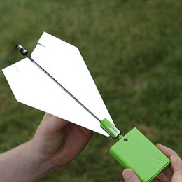 Wholesale Free Paper Airplane - Retail Free shipping Child gift toy paper airplane drive module engine model airplane  airplane model WD339