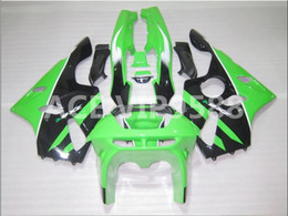 Wholesale Kawasaki Zx6r Fairing 1995 - 3gifts Fairing Kit for KAWASAKI Ninja ZX6R 636 94 97 ZX 6R1994 1995 1996 1997 zx6r Compression mold Fairings Green Black A14