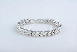 Wholesale Crystal Jewelry Set Fish - Charm Diamond Bracelet Crystal Bracelet for Women Girlfrient Fashion Jewelry
