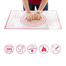 pizza-kochgeräte Rabatt 2 Teile / satz Große + Kleine Silikon Backmatte Pizzateig Maker Gebäck Küchenhelfer Kochwerkzeug Utensilien Backformen Liefert
