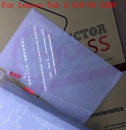2019 планшетный планшет 10 шт. Для Lenovo Tab 2 A10-30 X30F Tablet PC закаленное стекло протектор фильм гвардии с реальным номером отслеживания дешево планшетный планшет