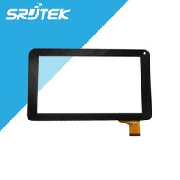 Wholesale Goclever Digitizer - Wholesale-GOCLEVER GO CLEVER TAB R70 Tablet Capacitive Touch Screen Digitizer Touch Panel Glass 30pins Replacement
