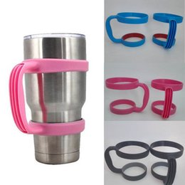 Wholesale Design For Plastic Cups - New Design Plastic Handles for 30oz Yeti Rambler Tumbler Cups Nonslip Secure Holder For Yeti 30oz Stainless Steel Insulated Tumbler Mugs