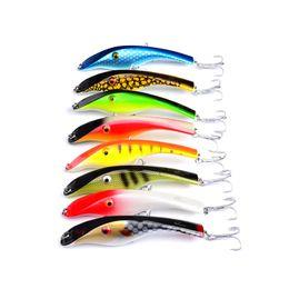 Wholesale pencil lures - New Bright Colors Laser Pencil Crankbait 14.5cm 44g Fly Fishing Big lures Deep Diving swimbaits