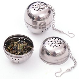 Wholesale Pot Hang - Tea Balls Hanging Type Teas Filter Strainers Creative Hot Pot Seasoning Ball Leach Domestic Strainers Stainless Steel Percolator 1 05rr R