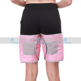 Wholesale Thigh Fat Burning Belt - Home Use Leg Thigh Slimming Cellulite Massage Blanket FIR Sauna Belt Vibrating Fat Burning Far Infrared Ray Wrap Weight Loss Body Shaping