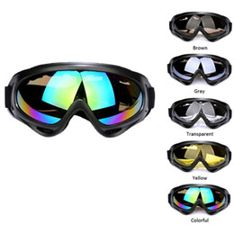 Wholesale Men Snowboard Goggles - Black Frame UV400 Snow Ski Goggles Men Over Glasses Anti-fog Lens Snowboard Snowmobile Motorcycle Cycling Ski Sunglasses