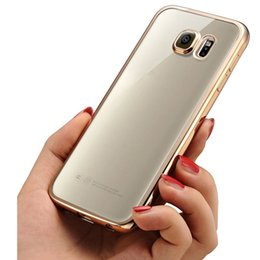 Wholesale A3 Quality - NEW Fashion Luxury High Quality TPU Plating Design Clear Cover Case For Samsung Galaxy A3 2017  A5 2017 A7 2017