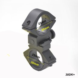 """Wholesale Scope Mounts Inch - AloneFire 25.4mm 1 Inch 1"""" Rings 30mm ring Dovetail Scope Rail Mount Hunting Bike Bicycle Light Torch Flashlight Clip Mount Bracket Holder"""