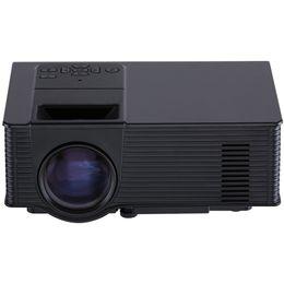 Wholesale vga media - Wholesale-Portable VS314 LED Projector 1500 Lumens 800 x 480 Pixels 1080P Media Player Home Cinema with HDMI VGA IR Control Proyector