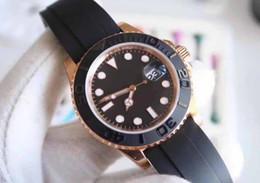 Wholesale Ceramic Rose Watch - Mens Luxury Superlative NOOB Factory Maker V7 40mm 116655 18k Rose Gold Swiss ETA 3135 Movement Automatic Mens Watch Watches