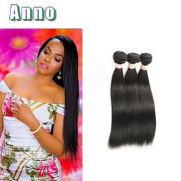 Wholesale Ms Lula Hair - 3 Bundles Peruvian Straight Hair Ms Lula Straight Peruvian Virgin Hair 8a Grade Virgin Unprocessed Human Hair Quality Guarantee
