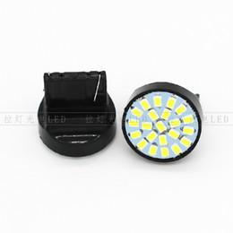 Wholesale 22 Brake - T20 LED Bulbs Super Bright 22-SMD 3014 Car Lights Bulb Backup Signal Tail Side Indicator Lights Brake lamps