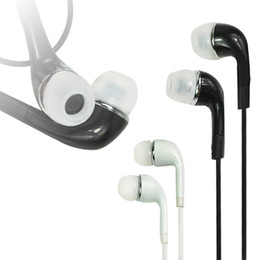 Wholesale Fedex Pack - (20 pcs ) Apple iPhone Earphone with MIC and Volume Control for For Apple iPhone(iPhone) black and white without box packing by Fedex DHL