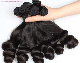 Wholesale Hot Black Weaves Brazilian - Hot Selling Top Quality Brazilian Human Virgin Hair Extensions Fumi Hair wefts Natural Black Color Weaving Hair Factory Price Free Shipping