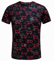 Wholesale Famous T Shirts Designs - Top Quality Famous Brand Design Short Sleeve Cotton Slim TShirt Casual Fashion T-shirt New Arrival Men Summer Style Tops Tees