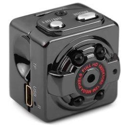 Wholesale Wholesale Small Video Camera - HD 1080P Sport Spy Mini Camera SQ8 Mini DV Voice Video Recorder Infrared Night Vision Digital Small Cam Hidden Camcorder with Retail Box
