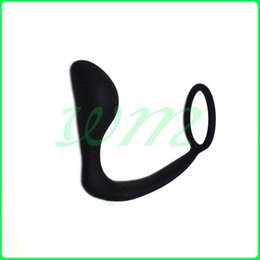 Wholesale Cock Ring Hook - Men Climax Fantasy Silicone Male Prostate Massager Cock Ring Anal Sex Toys Butt Plug for Men, Adult Erotic Sex products