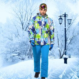 Wholesale Cheap Suits China - Wholesale- Winter Ski Suit Cheap Ski Suit Snowboarding Suits Snow Suit Men Ski Clothing Men Colorful Outdoor Jacket Buy-direct-from-china