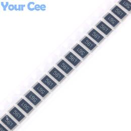 Wholesale Carbon Chip - Wholesale- 50 pcs SMD Chip Resistor 2512 1W 560R 560 ohm 561 5%