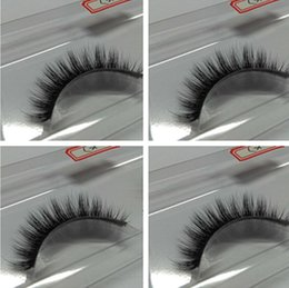 Wholesale China Eyes Makeup - 2017 New Eye Lashes Hand made Premium quality Natural long strip Makeup Extension Beauty Tools in china factory free shipping
