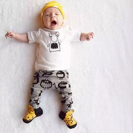 Wholesale Boys Collared T Shirt - T-Shirts Pants Baby Monster Clothes Suits Boys Clothing Sets Children's Sports Suits For Boys Clothes Sets Costumes