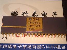 Пакет cpu онлайн-Zilog, Z8400ACS. Z80A CPU, Gold двойной встроенный 40-контактный упаковочный керамический пакет. Z8400. Винтажный микропроцессор / сбор урожая cpu / IC