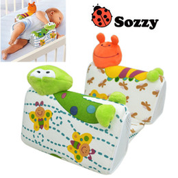 Wholesale Baby Side Sleeping - Infant Sleep Positioner Baby Anti-roll Pillow Baby Pillow Infant Toddler Ultimate Vent Sleep System Baby Pillow Positioner WD041