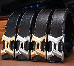 Wholesale Mens Personality Jeans - Fashion Casual X Designer Luxury Brand Belts for personality Mens Genuine Leather Male Women Jeans Vintage High Quality Strap Waistband