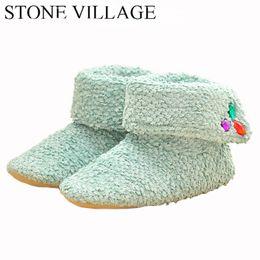 Wholesale korea winter shoes - Superior Quality Wool Home Slippers 2017 New Korea Style Print Plush Warm Winter Women Slippers Indoor Slippers Women Shoes
