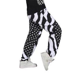 Wholesale Hip Hop Movement - Wholesale- 2016 men's loose hip-hop Parkour comfortable, breathable cotton men's movement casual print elastic waist pants for youth
