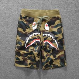 Wholesale Couples Pants - Summer print casual pants men and women couples shorts cotton beach pants