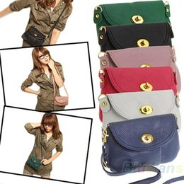 Wholesale Messenger Bag Low Price - Wholesale-2014 New Fashion Low Price High Quality Colorful Women Cute Crossbody Shoulder Messenger Bag Purse Handbag Drop Ship 1OCR