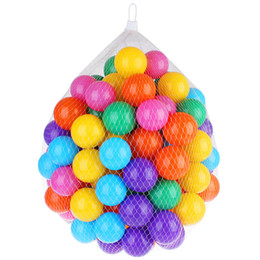 Wholesale Marine Ball Toy - 5.8cm colored marine ball children's play equipment swimming ball toy color is rich baby toy ball F1020