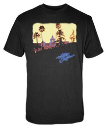 california t shirts Sconti T-shirt da donna estiva Eagles Hotel California a manica corta da donna