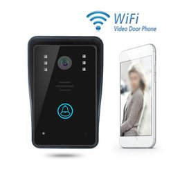Wholesale Digital Video Doorbell - Smart home doorbell infrared night vision wireless intercom video door phone digital doorbell Wifi video door phone intercom